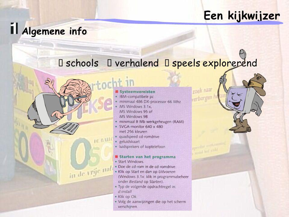 """Algemene info """" schools """" verhalend """" speels explorerend"""