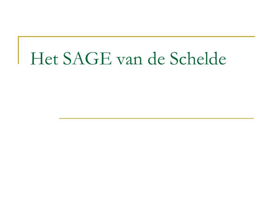 Het SAGE van de Schelde