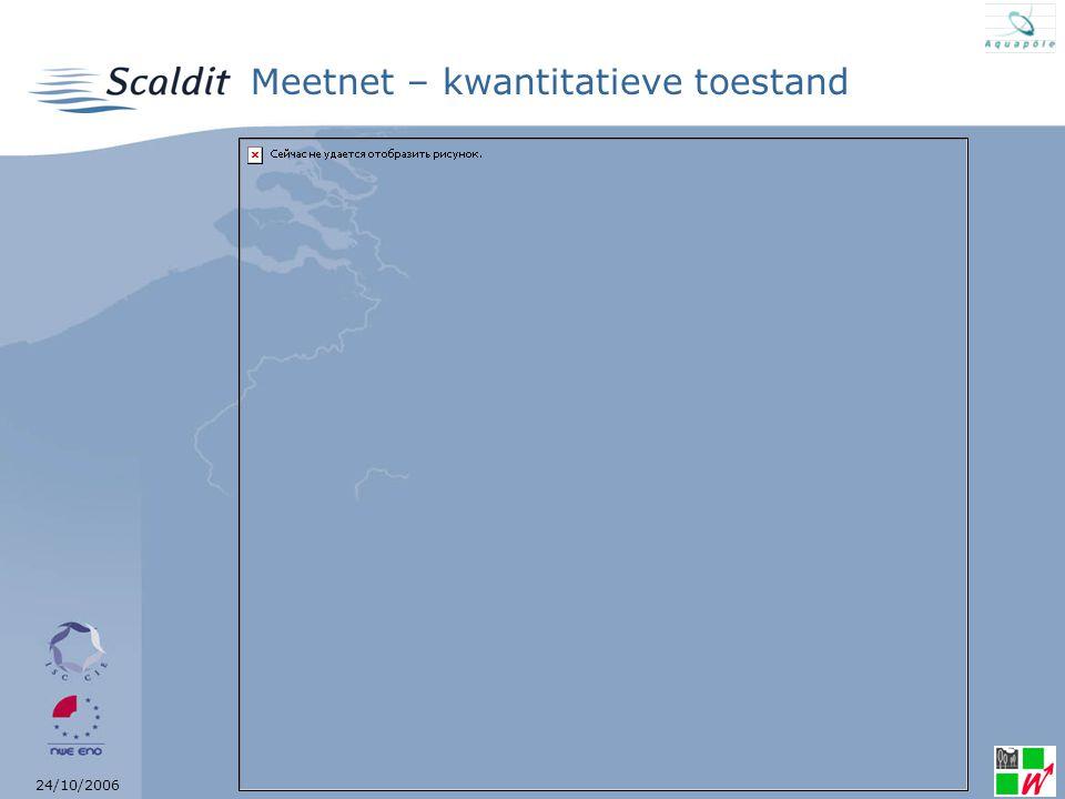 24/10/2006 Meetnet – kwantitatieve toestand