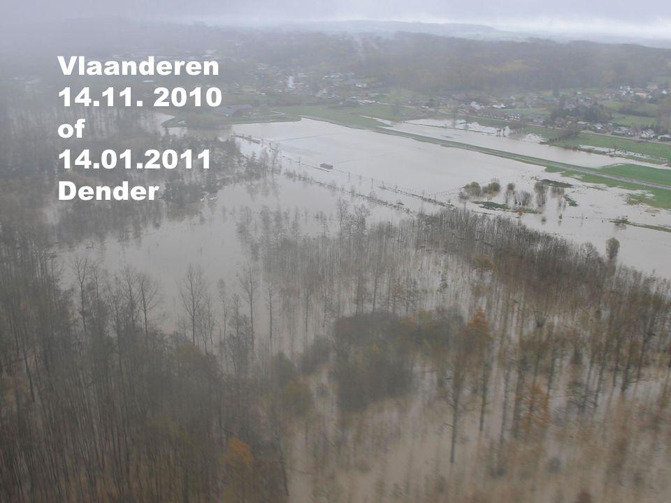 Meerdere overstromingen met grote negatieve gevolgen bij de verschillende partners.