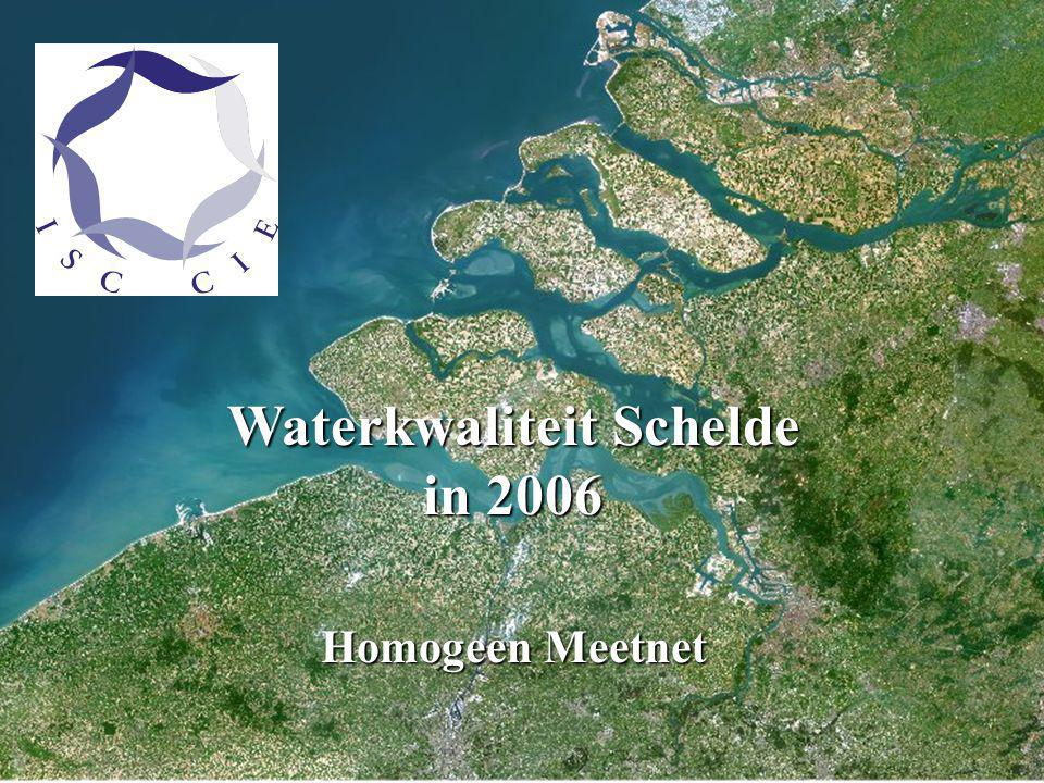 Qualité des eaux de l 'Escaut en 2006 Réseau de Mesures Homogène Waterkwaliteit Schelde in 2006 Homogeen Meetnet