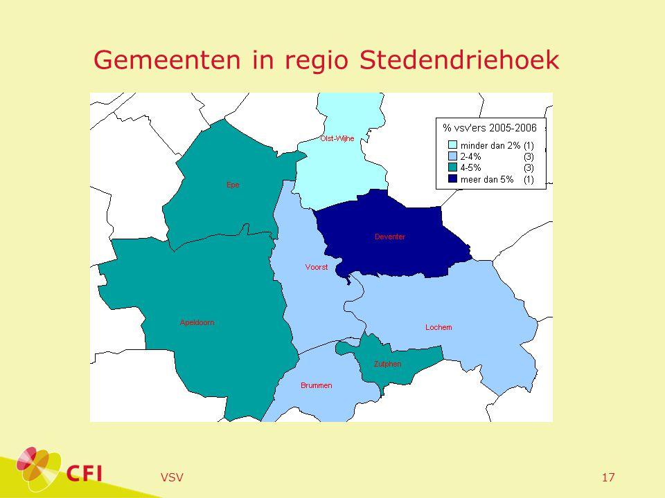 VSV17 Gemeenten in regio Stedendriehoek
