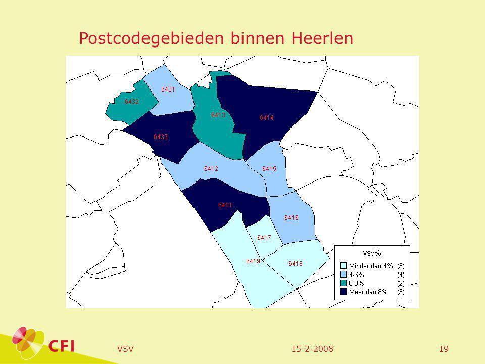 15-2-2008VSV19 Postcodegebieden binnen Heerlen