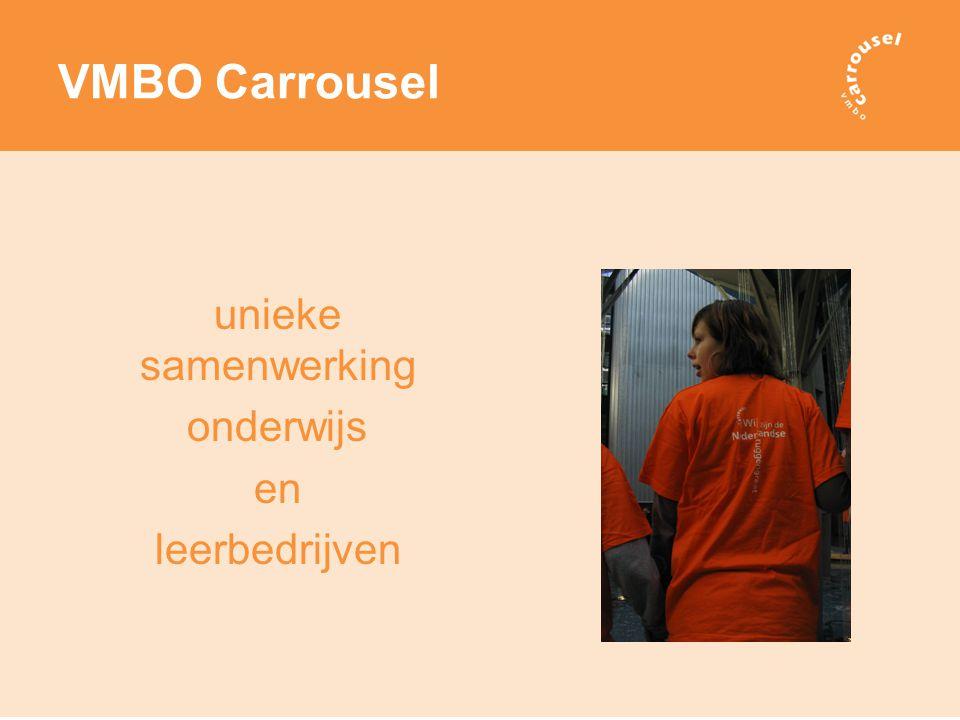 VMBO Carrousel unieke samenwerking onderwijs en leerbedrijven