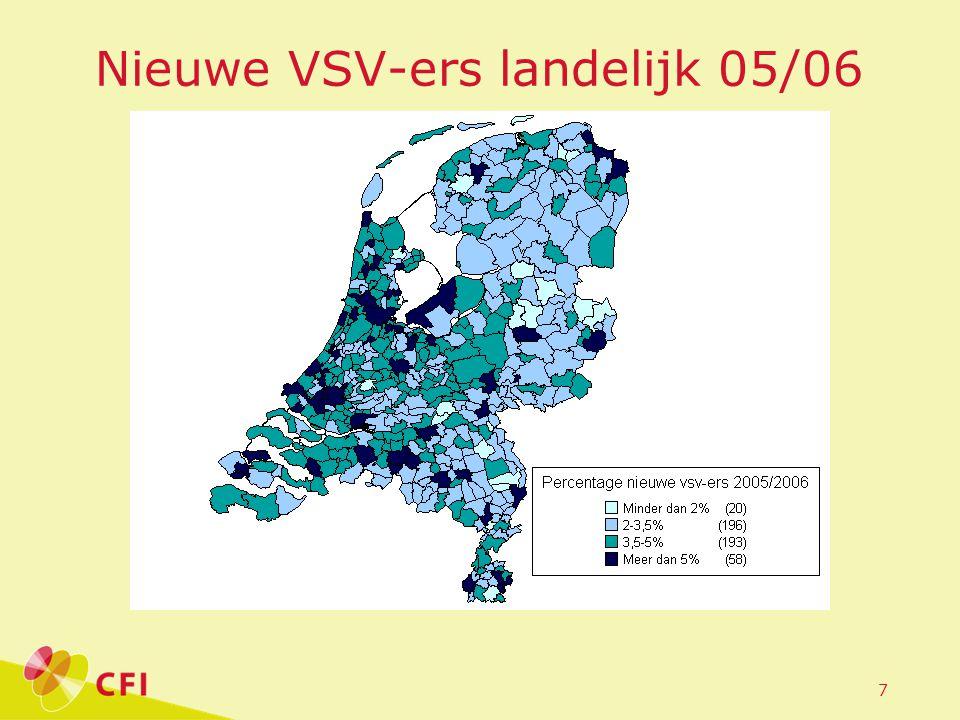 7 Nieuwe VSV-ers landelijk 05/06