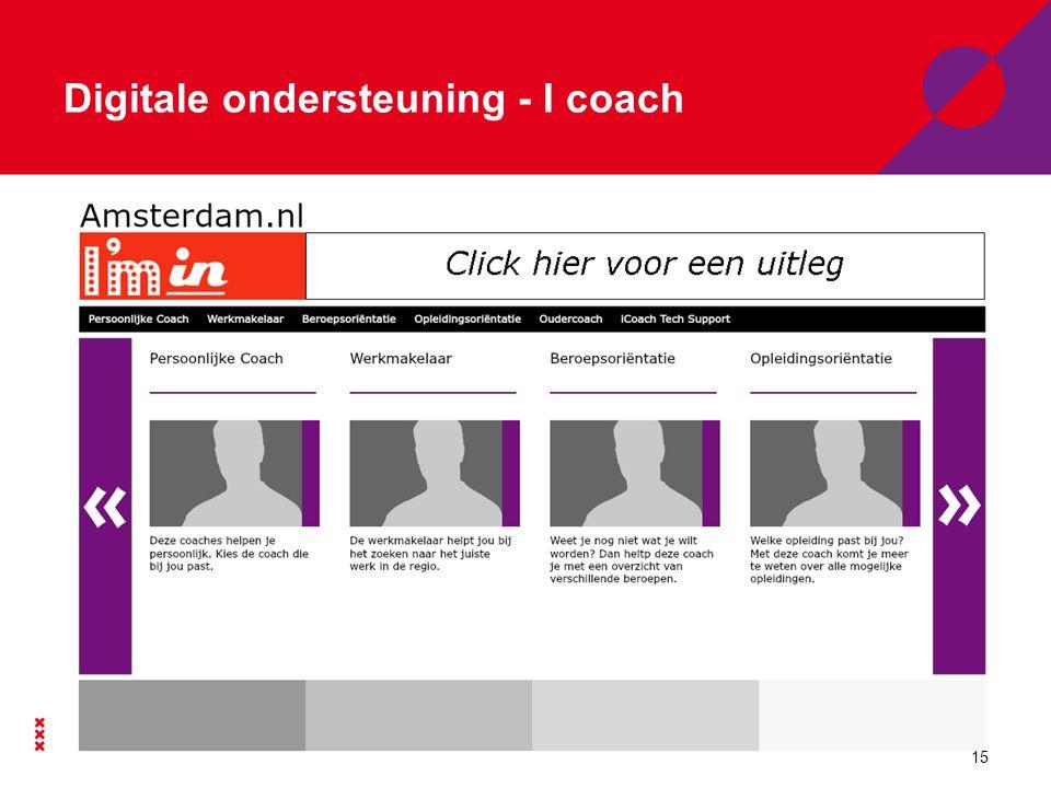 Digitale ondersteuning - I coach 15