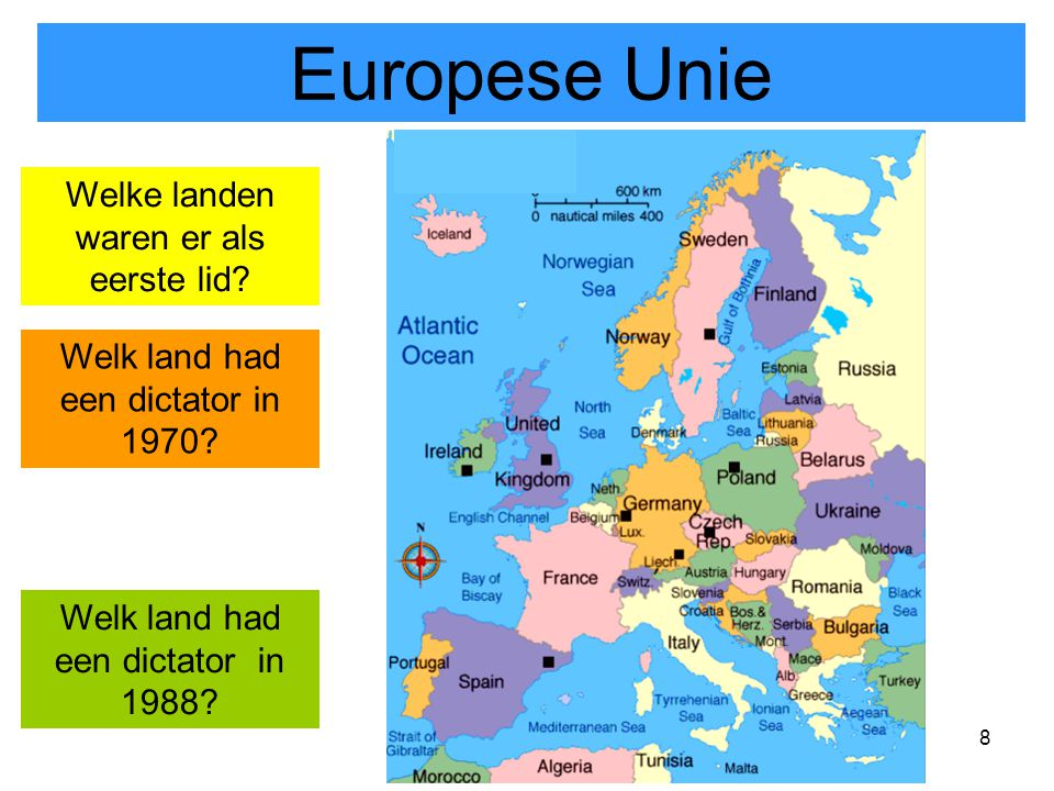 9 Het Europa van 1970