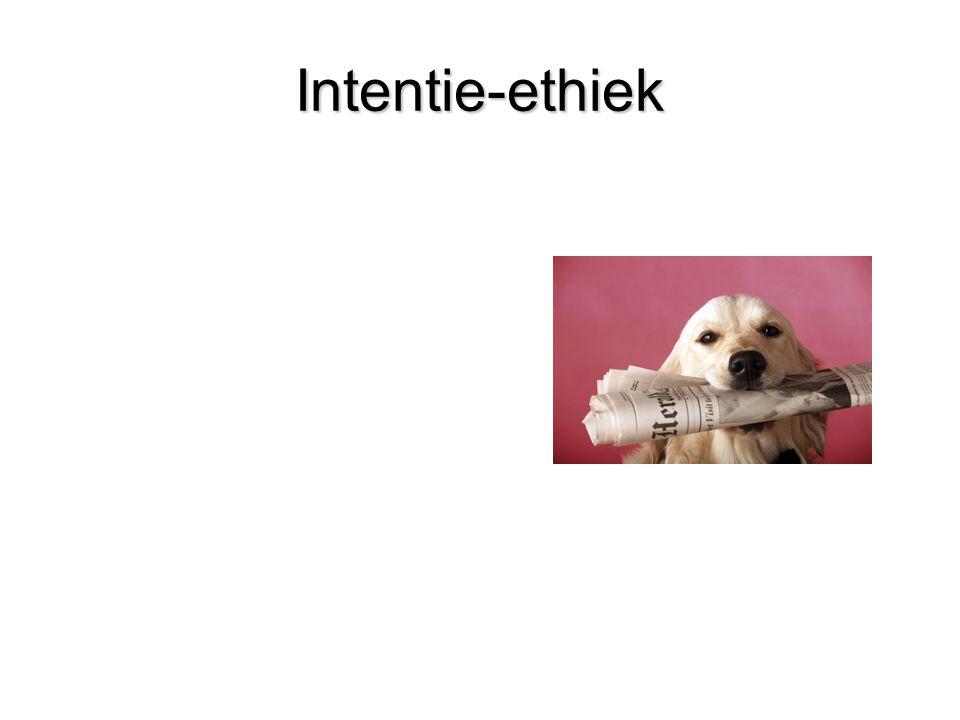 Intentie-ethiek
