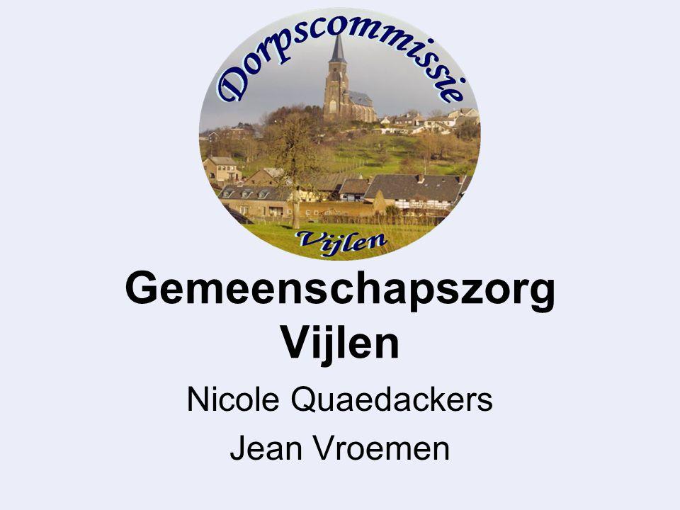 Gemeenschapszorg Vijlen Nicole Quaedackers Jean Vroemen