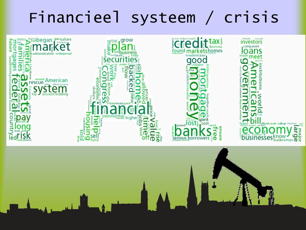 Financieel systeem / crisis