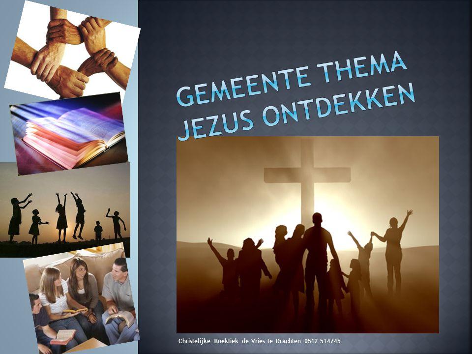 Op de site van www.boektiekdevries en www.jezusontdekken.nl :www.boektiekdevries www.jezusontdekken.nl Handreiking voor preken Jezus-ontdekken-catechese Introductiefilmpje Assen