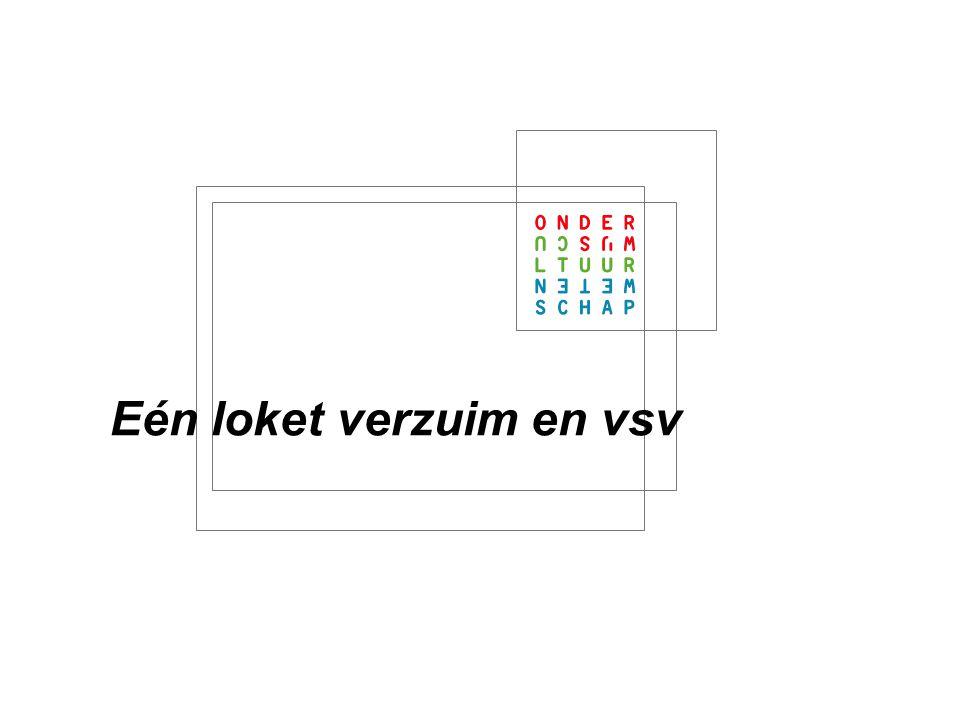 1 Informatievoorziening en VSV: Aantallen: hoeveel VSV'ers Verzuim als indicatie voor VSV Belang van juist melden van verzuim