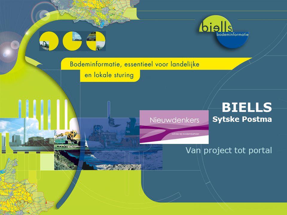 BIELLS Sytske Postma Van project tot portal