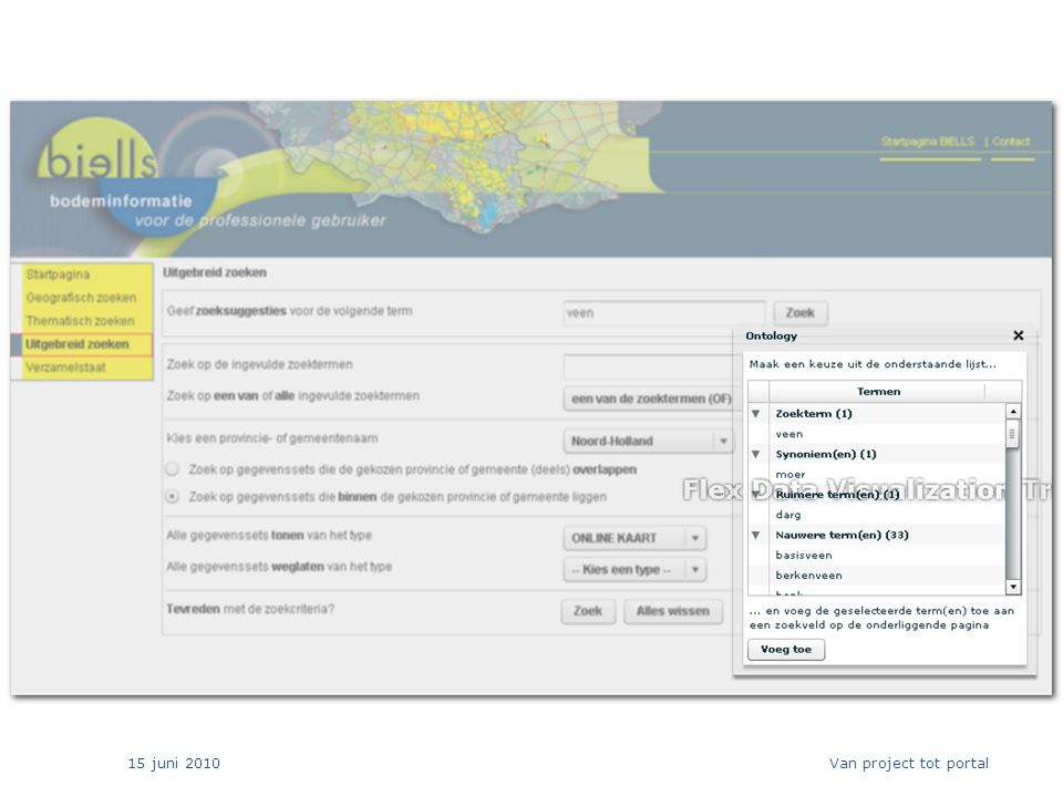 15 juni 2010 21 Van project tot portal