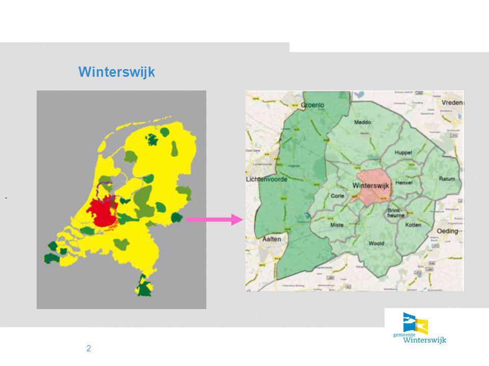 3 Winterswijk bijzonder mooi buitengebied / coulisselandschap kip met de gouden eieren bezoek Winterswijk vanwege het landschap afnemend belang landbouw versus recreactie