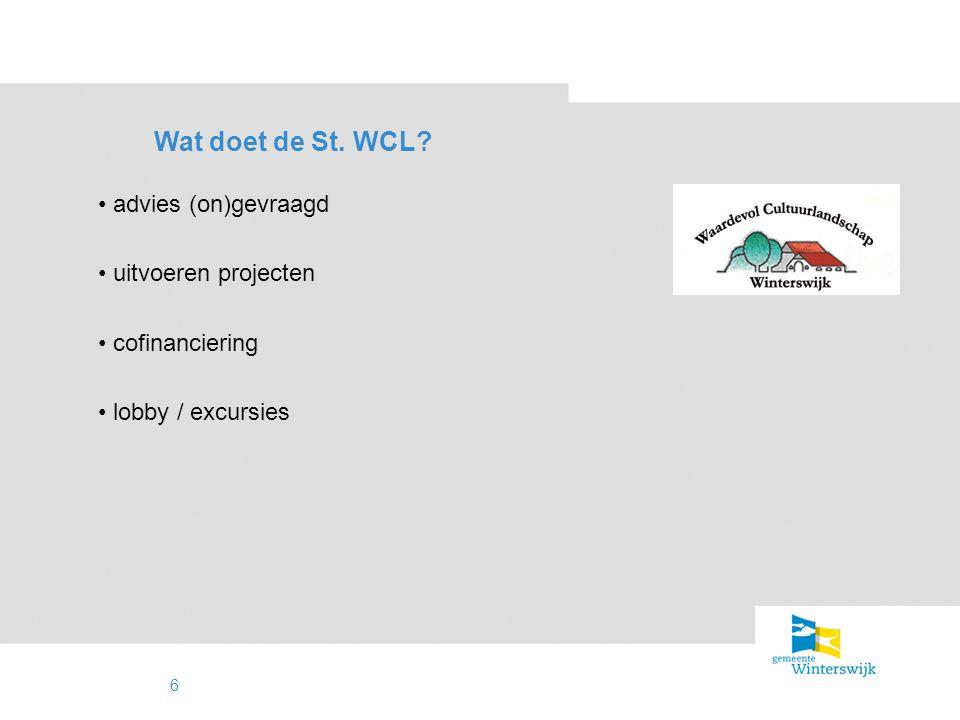 7 Resultaten draagvlak / aanzien veel projecten uitgevoerd (klein & groot) jaarlijkse landbouwfolie inzameling cursussen herstelproject kippenhokken zwerfafval Beleven NLW GLB -pilot