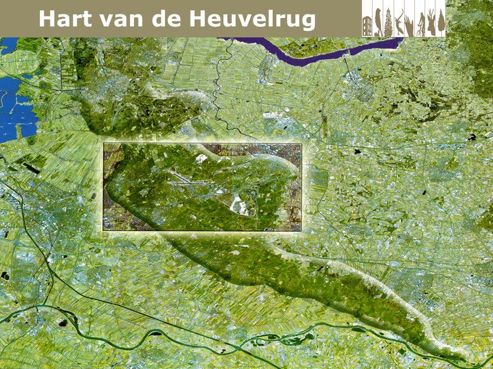 Utrechtse Heuvelrug: een noord-zuid gelegen zandrug van ongeveer 50 km lang en 23.000 ha groot.