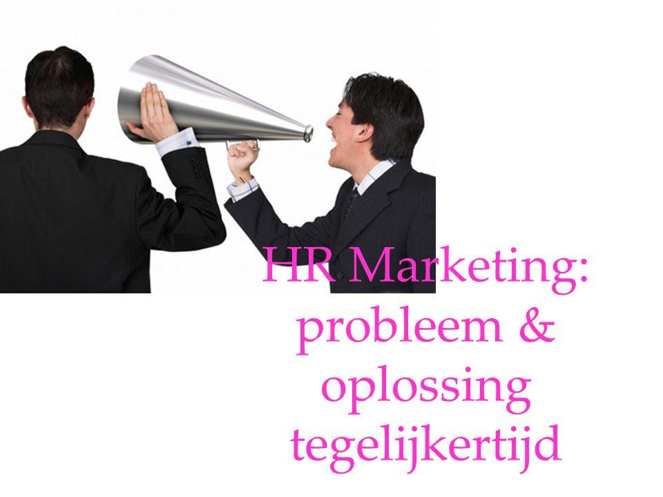 HR Marketing: probleem & oplossing tegelijkertijd