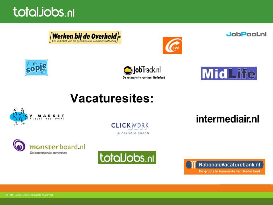 Clickbeurs.nl Doelgroep: Werkzoekenden met 0-4 jaar werkervaring Beursperiode: April & oktober 2009 Type stands: Premium & maatwerk Interactief: 1 op 1 chatten met kandidaten, Bedrijfsvideo's