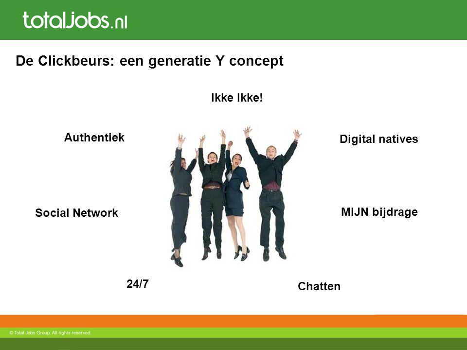 De Clickbeurs: een generatie Y concept Authentiek Social Network Digital natives MIJN bijdrage Ikke Ikke.