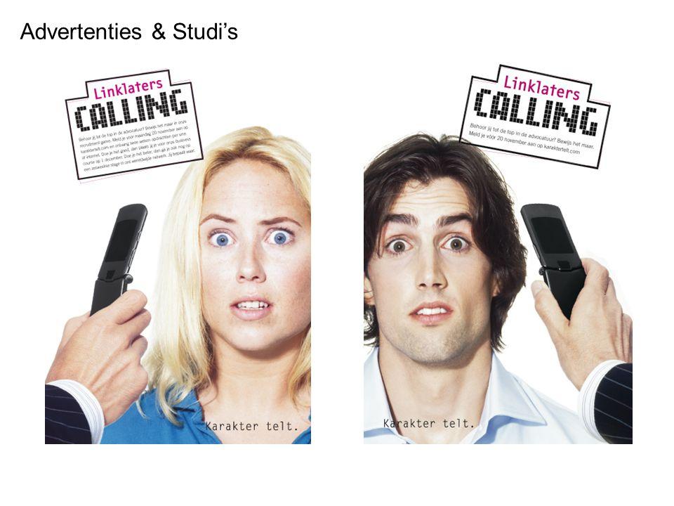 Advertenties & Studi's