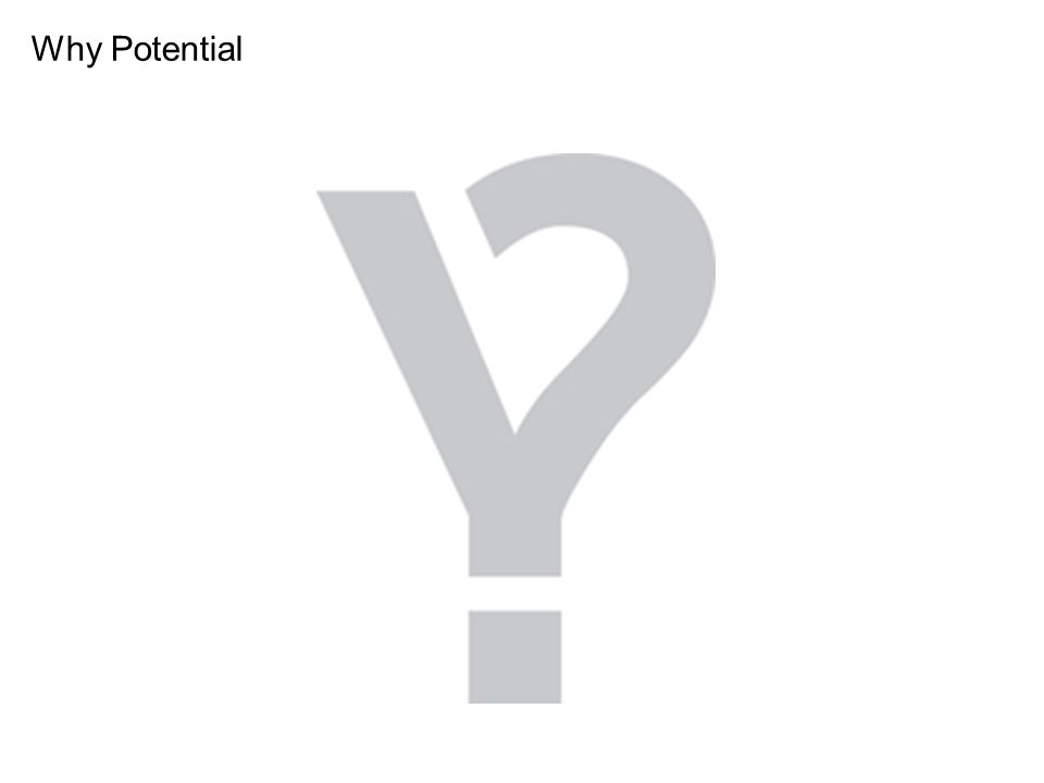Why Potential