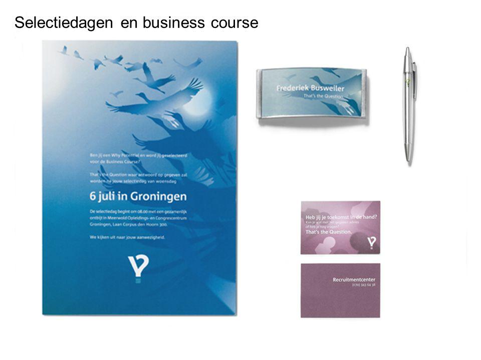 Selectiedagen en business course