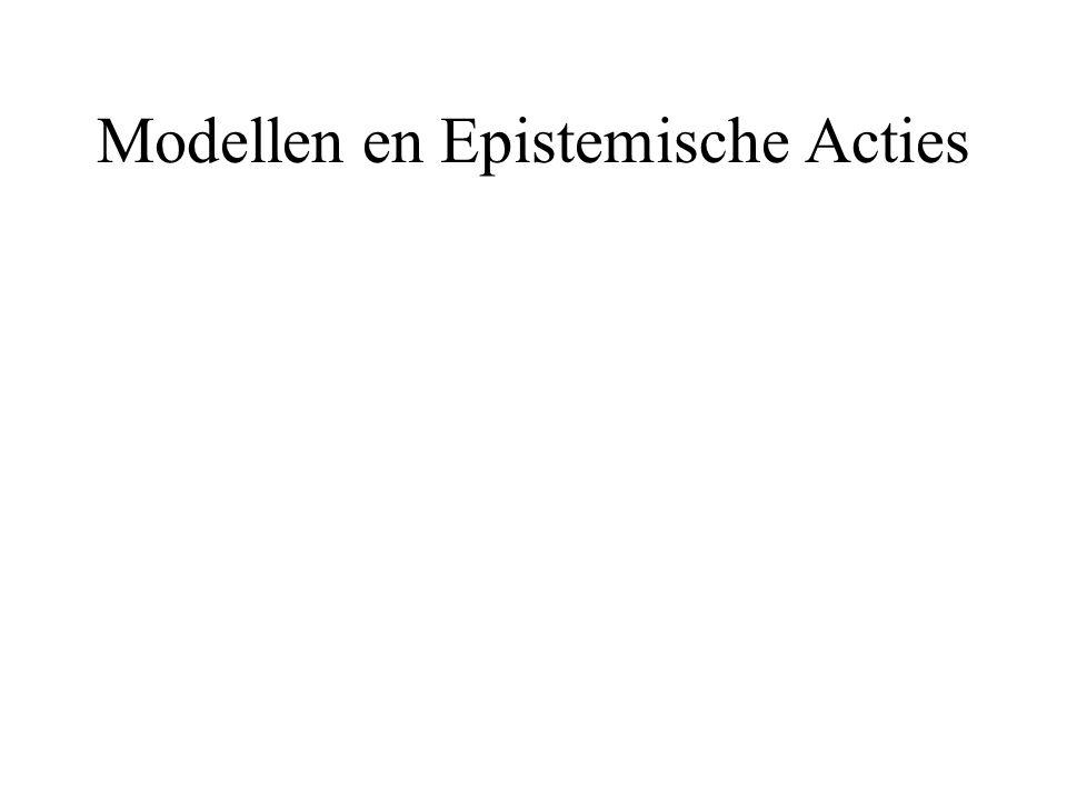Modellen en Epistemische Acties