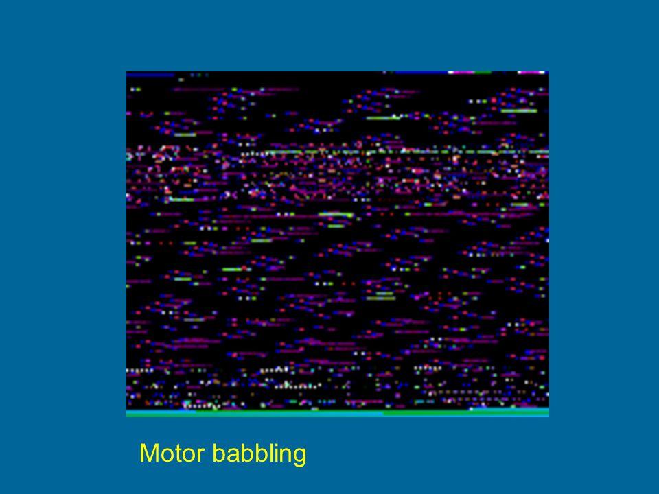 Motor babbling