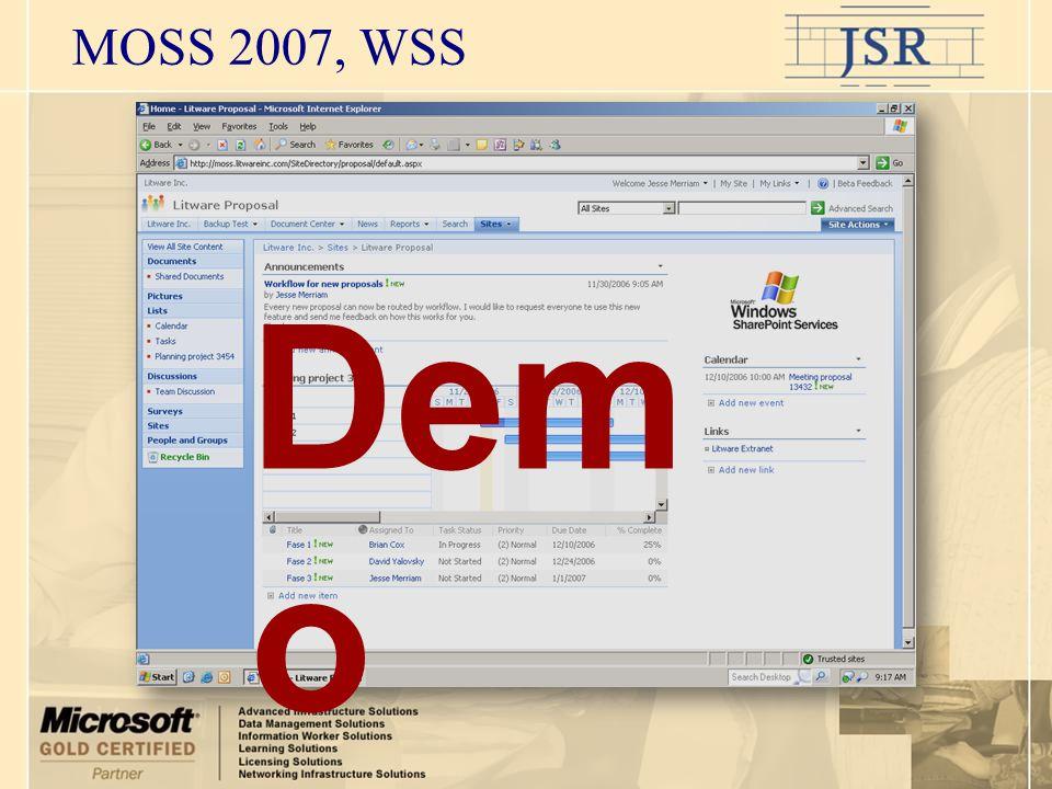 MOSS 2007, WSS Dem o