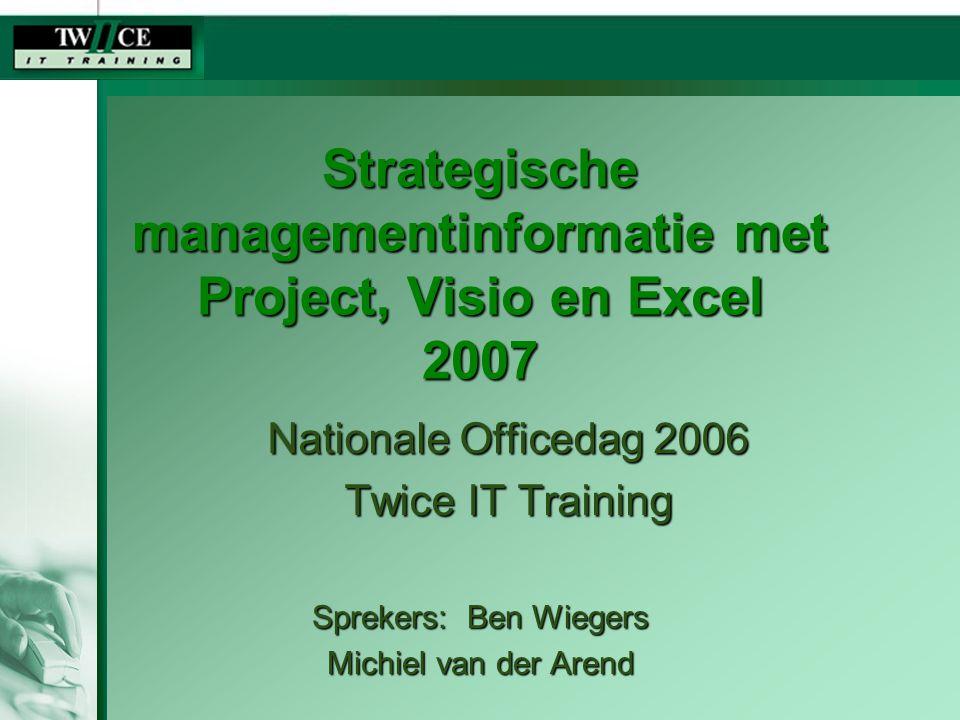 Wat gaan we doen.InleidingInleiding Project 2007: wat is er nieuw?Project 2007: wat is er nieuw.