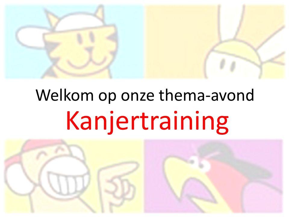Opzet van de avond Wat is Kanjertraining.Het Kleine Kanjerboek Zelf aan de slag.