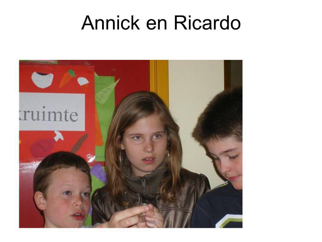Annick en Ricardo