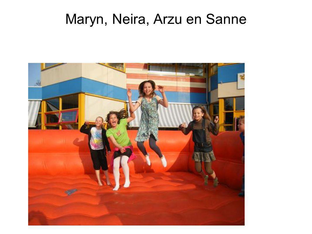 Maryn, Neira, Arzu en Sanne