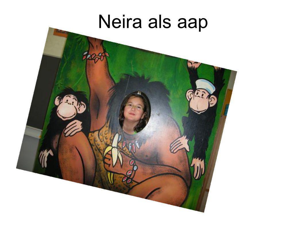 Neira als aap