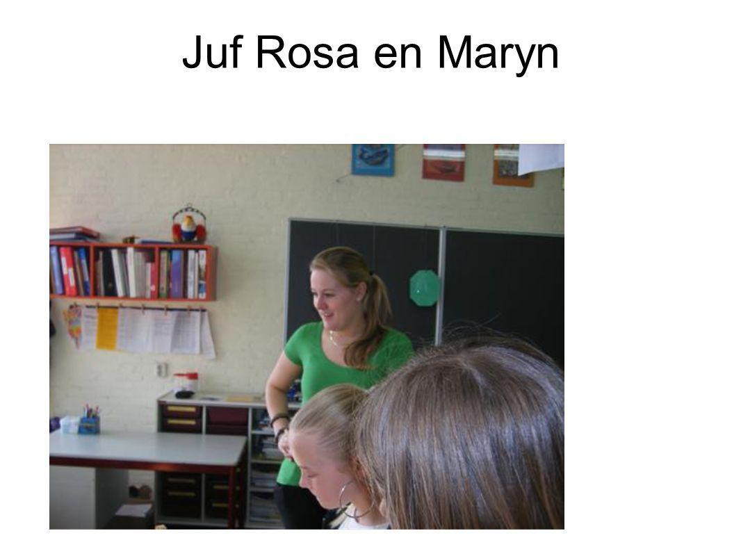 Juf Rosa en Maryn