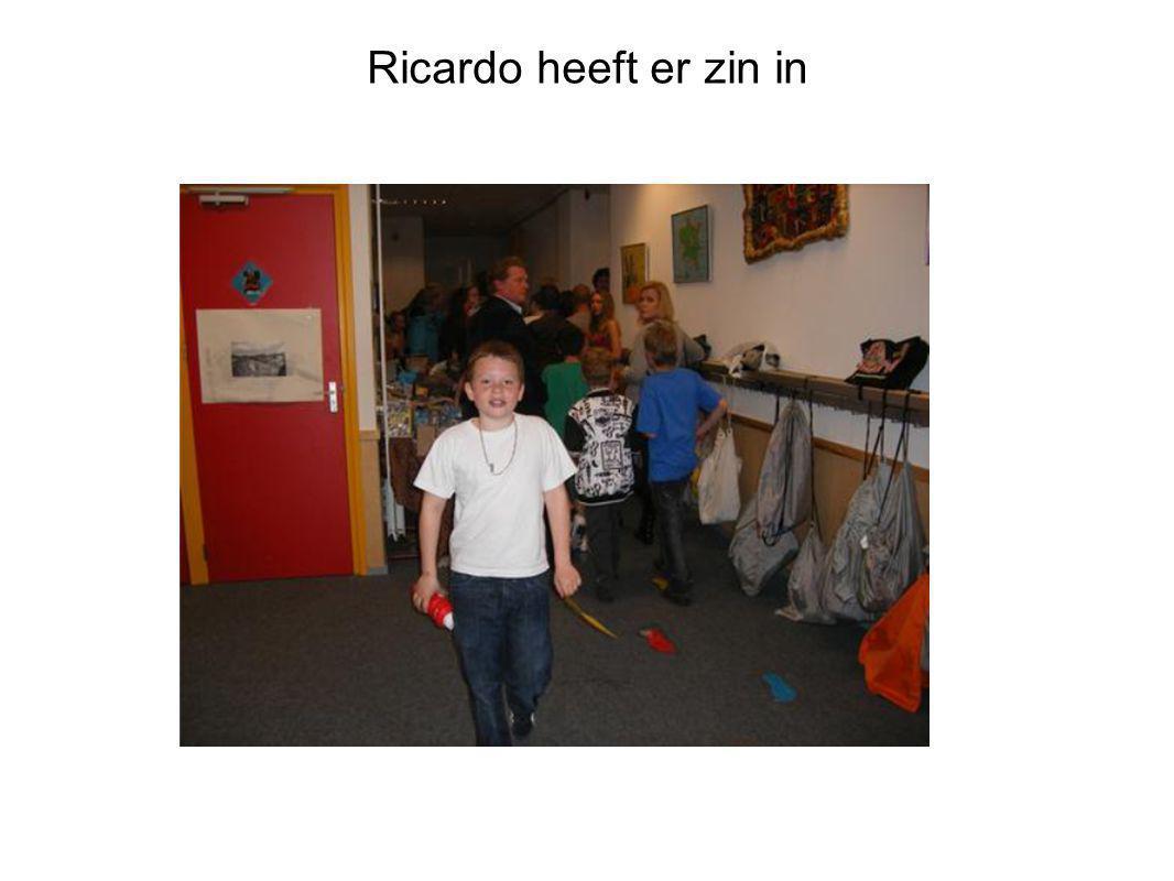 Ricardo heeft er zin in