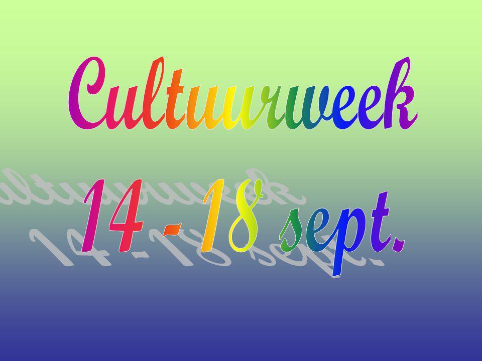 Groep 5a, 5b en 5c hadden in de cultuurweek muziekinstrumenten als onderwerp.