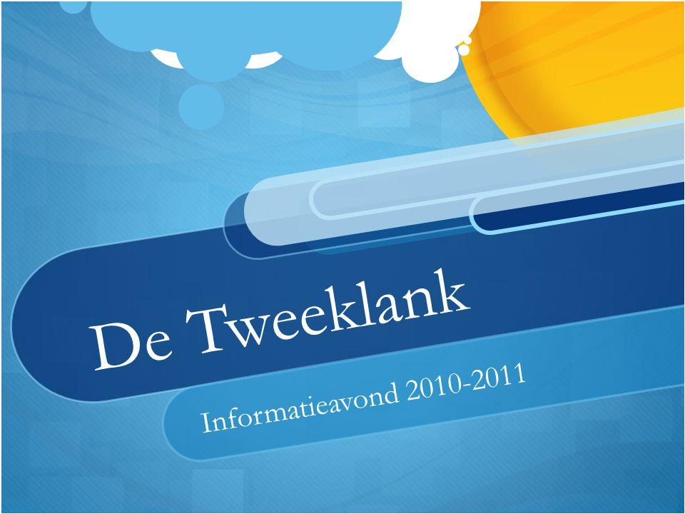 De Tweeklank Informatieavond 2010-2011