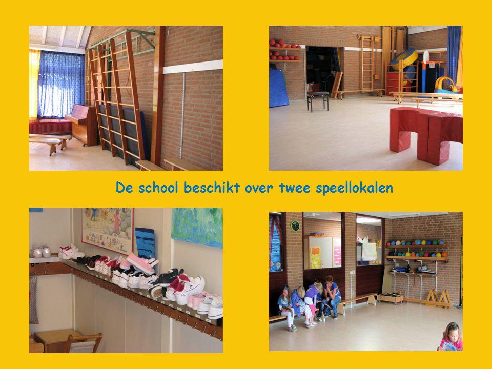 De school beschikt over twee speellokalen