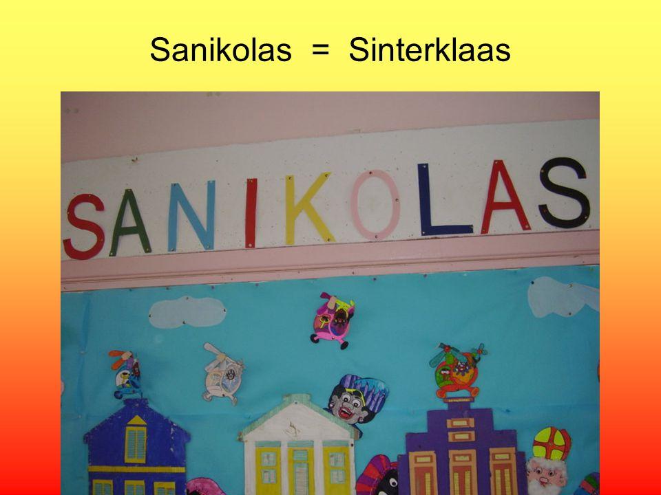 Sanikolas = Sinterklaas
