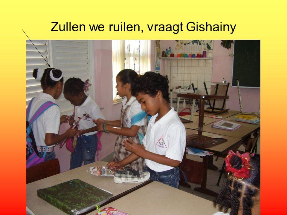 Zullen we ruilen, vraagt Gishainy