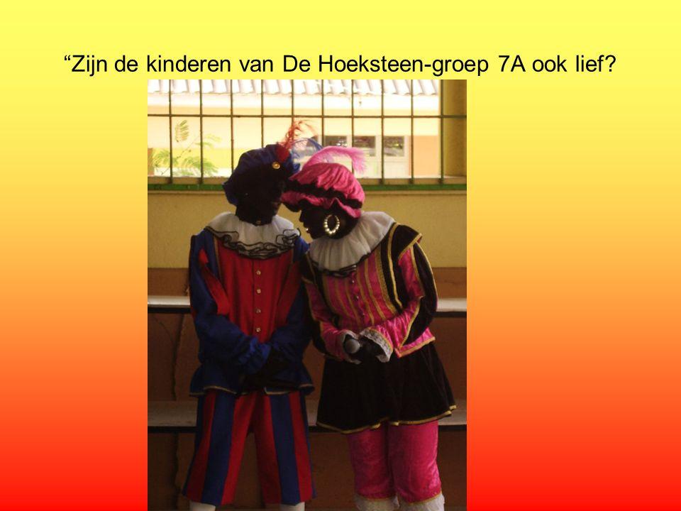 Zijn de kinderen van De Hoeksteen-groep 7A ook lief