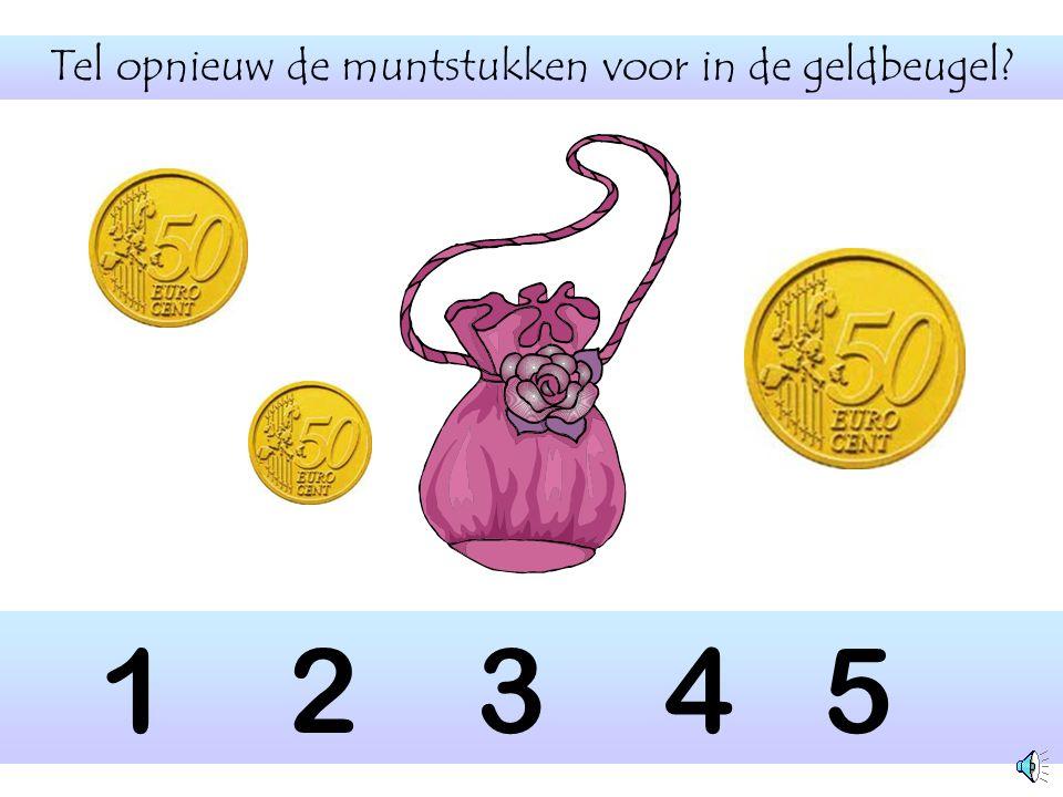 Hoeveel muntstukken tel je hier? 1 2 3 4 5