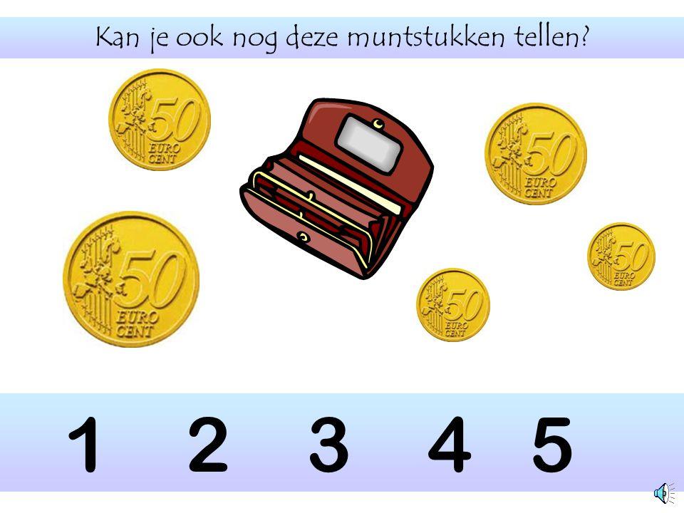 Tel opnieuw de muntstukken voor in de geldbeugel? 1 2 3 4 5