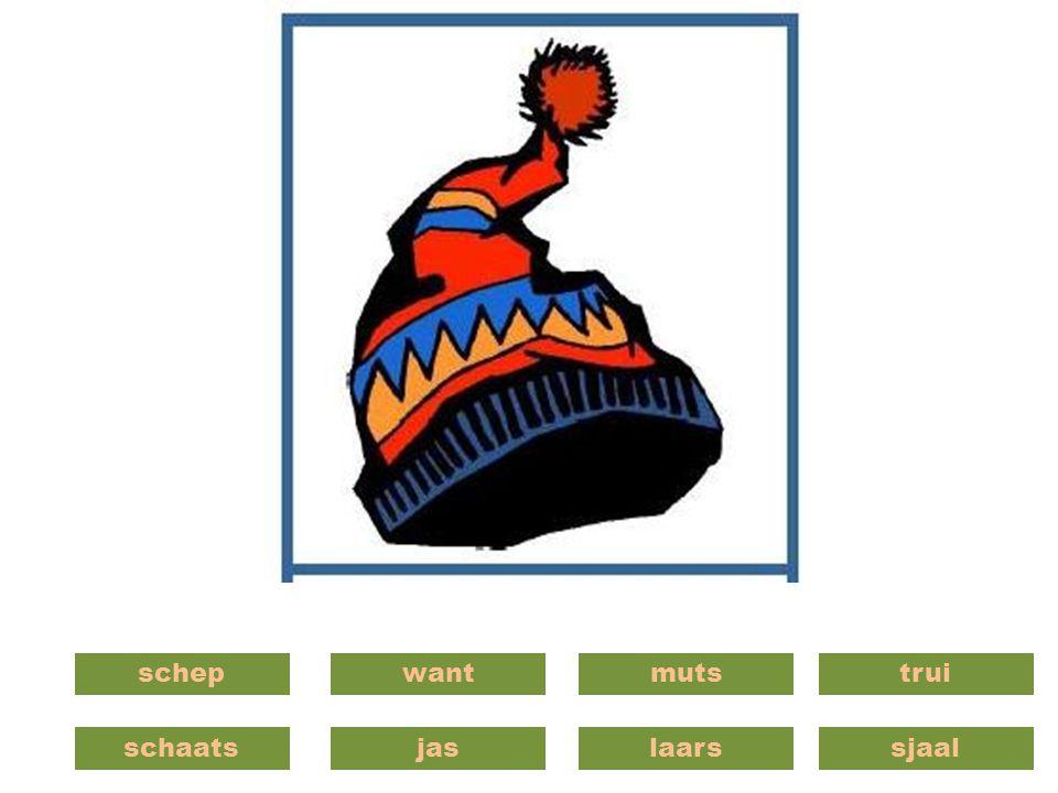 schaatsjas wantschepmuts laars trui sjaal
