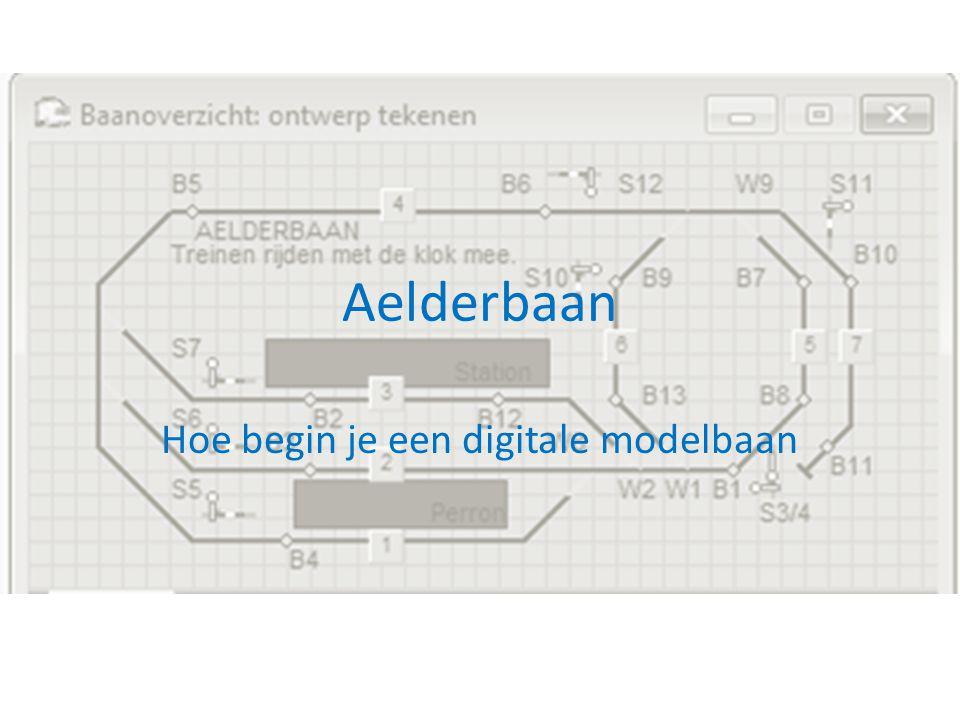 Aelderbaan Hoe begin je een digitale modelbaan