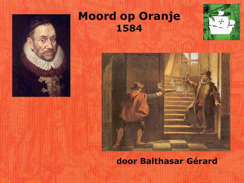 Moord op Oranje 1584 door Balthasar Gérard