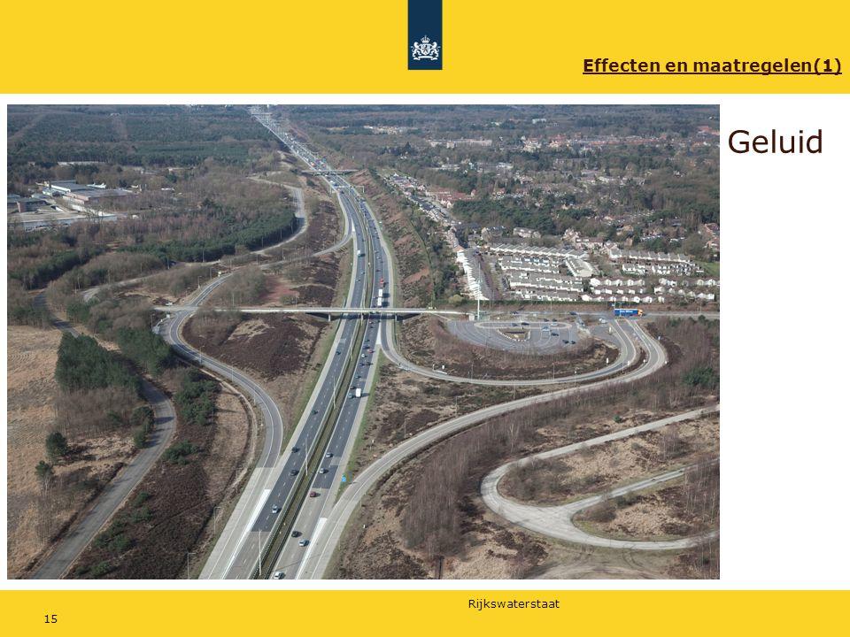 Rijkswaterstaat 15 Geluid Effecten en maatregelen(1)