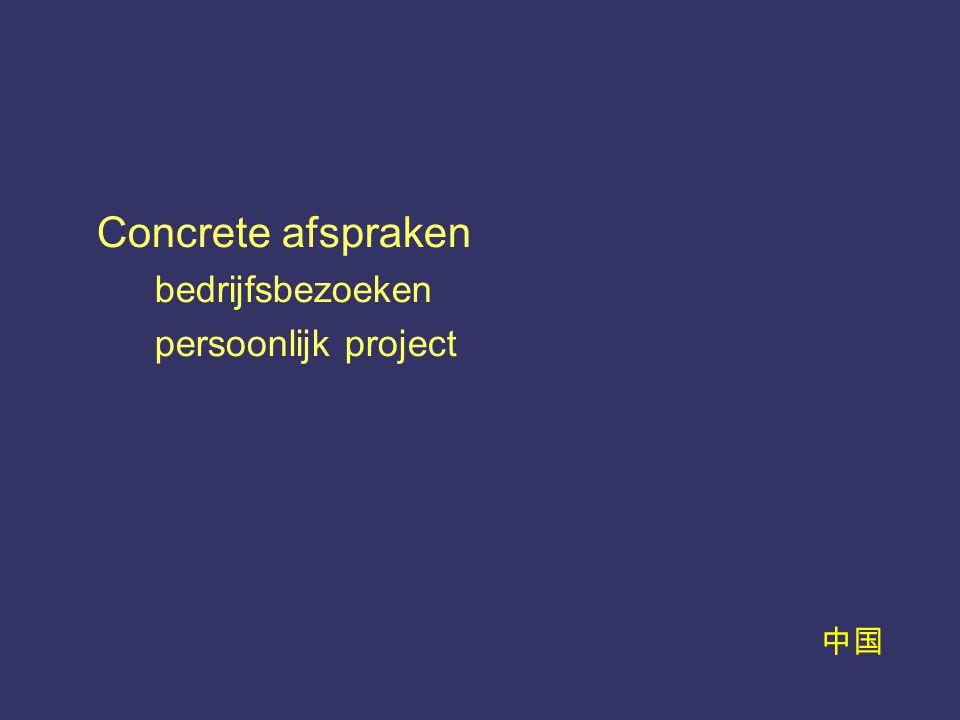 中国 Concrete afspraken bedrijfsbezoeken persoonlijk project